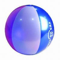 Inflatable Beach Ball, with 6, 12, or 36 Panels Manufactures