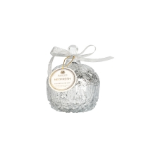 Glass Jar Scented Candle Holder , Essential Oil Candle Holder Manufactures