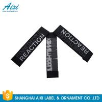 Good Feeling - Touch Custom Printed Clothing Labels , Soft Woven Garment Labels Manufactures