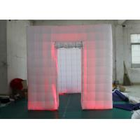 Outdoor Inflatable Photo Booth Double Triple Stitches Customized Color Manufactures