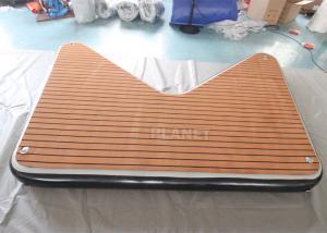 V Shape Inflatable Floating Dock Inflatable Jet Ski Dock Inflatable Dock For Marine Yacht Boat Manufactures
