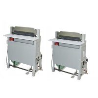 Nanbo 1.1kw Book Punching Machine , 60Hz Industrial Hole Punch Machine Manufactures