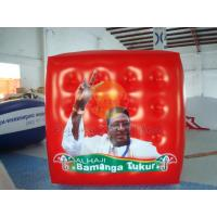 Durable Attractive Red Political Advertising Balloon, Cube Balloons for Trade show Manufactures