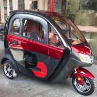 60V 1200W Enclosed Cabin 3 Wheel Electric Tricycle Manufactures