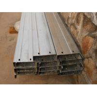 Automatic Drilled Holes Steel Building Purlins, Cold Rolled Steel C Purlin Manufactures