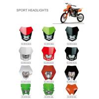 Buy cheap Various Colors Led Motorcycle Driving Lights , Led Motorcycle Headlight New ABS from wholesalers