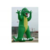 Funny Popular Commercial PVC Inflatable Dinosaur With 3 - 10m Height Manufactures