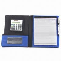 Organizer with Leather, PU/PVC Stitching, Five Card Slots, Pen Slot, Customized Designs are Accepted Manufactures
