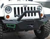 Durable Steel 2007 Jeep Wrangler Bumpers / Front And Rear Bumpers CE Certificate Manufactures