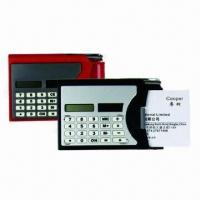 Calculators with Namecard Holder and PE, Transparent Shell Available, Customized Logos are Accepted Manufactures