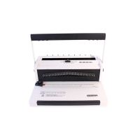 34 Holes 300mm Width Paper Punching Binding Machine Manufactures