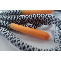 Durable Non Elastic Cord With Matt Silicone Endings For Jacket,Shoes,Bags Manufactures