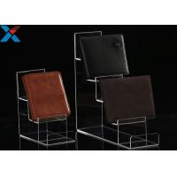 Mobile Phone / Wallet Acrylic Display Stands Multilayer Display Rack Eco - Friendly Manufactures