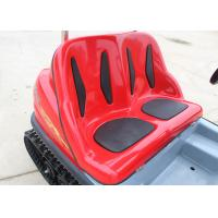 Track Electric Sightseeing Car Durable With Green Energy Double Brake Pedal Manufactures