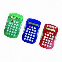 Mini Calculators, Transparent Shell Available, Customized Logos are Accepted Manufactures