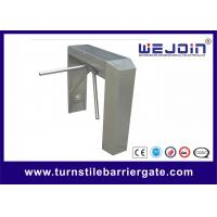 Buy cheap Manual Stadium Tripod Turnstile Gate 25-32 Persons / Min Speed One Year Warranty from wholesalers