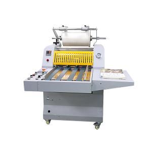 Hydraulic 3000mm/Min Film Roll Laminating Machines AC 400W Motor Manufactures