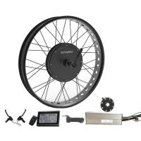 Powerful 48v 500w Brushless Dc Hub Motor, 48v Gearless Fat Bike Motor Kit Manufactures
