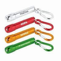 Carabiner Keychains, Made of Aluminum Alloy, with Anodized Surface Finish Manufactures