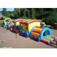 Large Long Outdoor Obstacle Course For Kids Interactive Boot Camp Manufactures