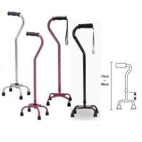 Adjustable Medical Supplies Walkers Aluminum Elbow Crutch Lightweight different color Manufactures