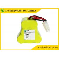 9.6 Volt Rechargeable Battery Pack , 3000 Mah NIMH Battery Customized Color Manufactures