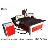 Red Color CNC Router Wood Carving Machine , Industrial CNC Router Table Manufactures