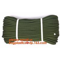 Soft emergency escape rope thin polyester rope, safety rope, climbing rope, protective escape rope, braided polyester Manufactures