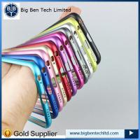 Buy cheap New arrival metal bumper for iPhone 6 plus Aluminum frame case Ultra thin from wholesalers