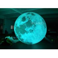 Giant Inflatable Lighting Decoration With Colorful LED Blub CE EN71 EN14960 Manufactures