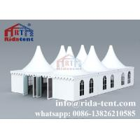 Buy cheap New Design Anti Fungus Pagoda Party Tent With Hot Dip Galvanized Steel from wholesalers