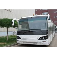 Small Turning Radius Tarmac Coach Aero Bus With Diesel Engine Manufactures