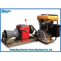 Buy cheap 230kg 30KN Pull Force 1 Or 2 Gear Stringing Equipment Diesel Power Winch from wholesalers
