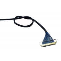15 Pin 7.3mm 1.0mm 200mm LVDS Video Cable Manufactures