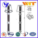 444KV Extra High Voltage Substation Lightning Arrester with ISO9001 Certified Manufactures