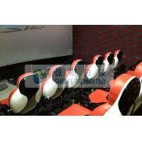 Realistic 6D Cinema System With Seperate Platform And Cinema Special Effects Manufactures