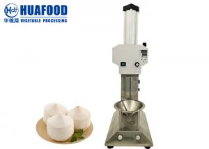 Testa Skin Hard Shell Green Tender Automatic Coconut Peeling Machine Coconut Sheller Manufactures