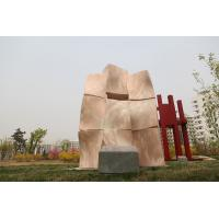 Landscape sculpture with Natural stone for city Manufactures