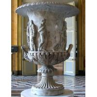 White Marble Flowerpot for building Manufactures