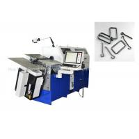 Low Carbon Wire 3.0 - 8.0mm Computerized Forming Wire Bender Machine Manufactures