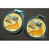 Buy cheap Bespoke Kids Football Awards Medals And Ribbons With Colors Soft Enamel from wholesalers