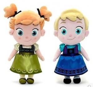 Disney Frozen Ana and Elsa Baby Plush toys Manufactures
