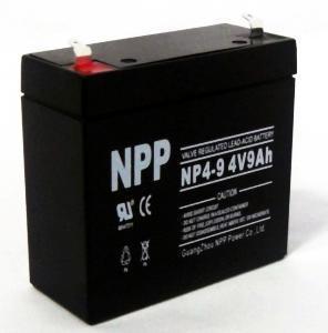 Solar Battery (UL, CE) (NP4-9Ah 4V 9AH) Manufactures