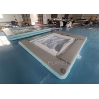 Double Wall Fabric Sea 0.9mm PVC Inflatable Yacht Pool Manufactures