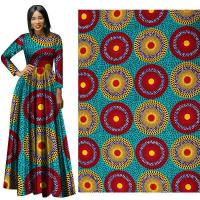 Spring New African Ethnic Clothing Cotton Printed Cloth Amazon Cross-Border Batik Fabric Wholesale Manufactures