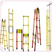 Double Side Telescopic Ladder FRP GRP climbing ladder Manufactures