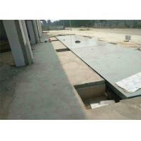 Accuracy 20 Kgs Ultimate Steel Deck Weighbridge With Digital Load Cell Manufactures
