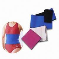 Slimming Belt with Self-adhesive Closure, One Size Fits All Manufactures