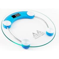 Bathroom Digital Glass Body Weighing Scale Convenient Easy Operation Manufactures