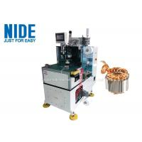Double Side Motor Stator Coil End Lacing Machine Middle Size With CCC Certificate Manufactures